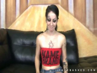 Pale Molly Smash spreads for rough sex