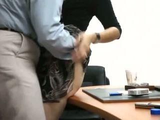 Secrétaire obtenir baisée en bureau