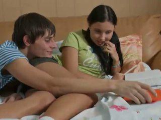 een tiener hardcore klem, tiener sex film, amateur teen porn