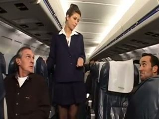 uniform porno, echt stewardess
