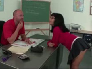 Sexy Milf Teacher Gives Blowjob And Fucks