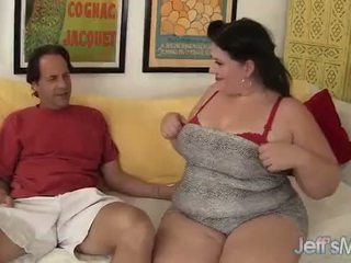 Tempting hot plumper Becki Butterfly gets fucked good