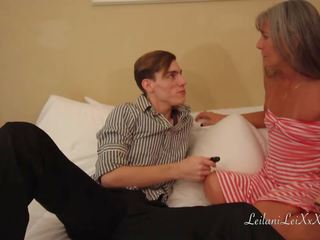 MILF Blackmailed by Young Man, Free MILF Young HD Porn fa