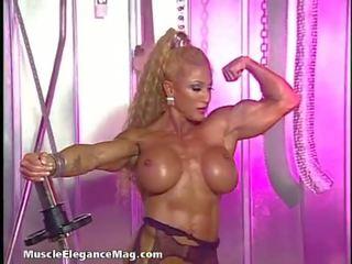 grote tieten, lingerie porno, blond