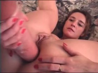 Fine French Femme Fisting