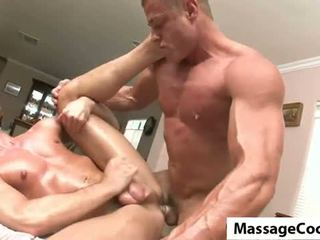 new fucking best, muscle hot, great oil real