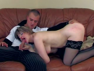 Slim Russian Granny's Anal, Free Russian Anal Porn Video 74