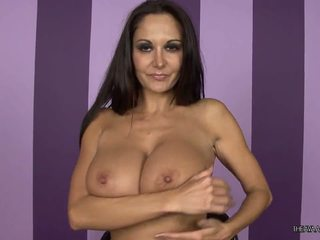 Hot milf shows her sexy body