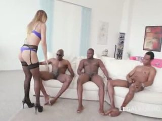 Black Buster, Mike Chapman & CO take care of Lexy Star for hard anal fucking and DP GIO204 <span class=duration>- 2 min</span>