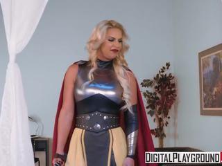 XXX Porn Video - Whor Goddess of Thunder a DP Parody...
