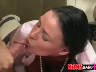 si rambut coklat menonton, fucking berkualiti, seks oral sebenar