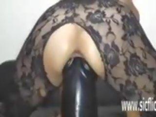Sarahs Gargantuan Dildo Fucking Orgasms, Porn dc