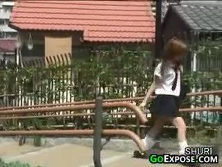 Warga jepun gadis sekolah seluar dalam