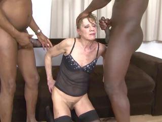 babičky, trojka, interracial