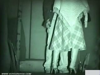 Infrared camera maninilip publiko pagtatalik