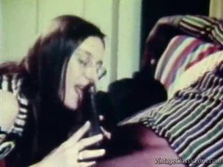 interracial, porn retro, vintage seks
