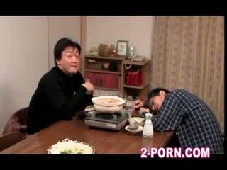 dona de casa, milf, asiático