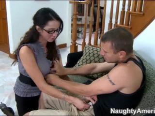 brunete, jāšanās, hardcore sex