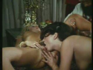 sex în grup, vintage, orgie