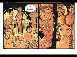 Hardcore sex comic și fantasy robie comic