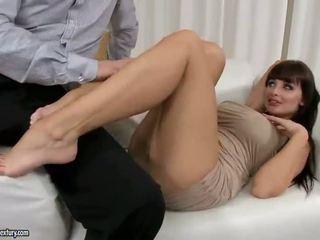 שחרחורת, סקס הארדקור, מין אוראלי