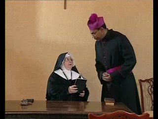ебать, nuns
