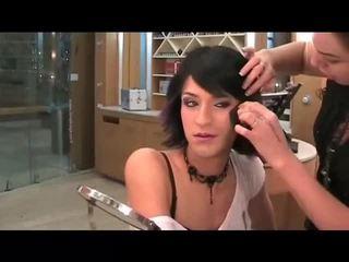 makeup, crossdresser, face