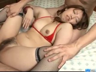 Obedient ai ootomo goes 向下 上 two 大 cocks