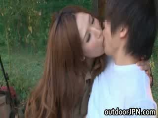 Ai sayama japans pop has outdoors seks