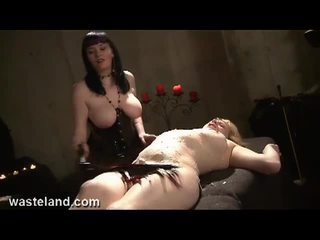 big boobs, torture, painful