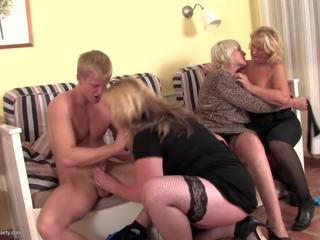 Mature Sex Party with Gilfs and MILFs, HD Porn 26
