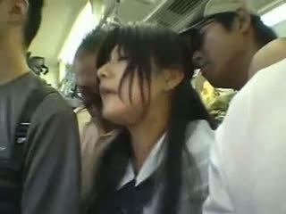 जापानी, blowjob, सार्वजनिक