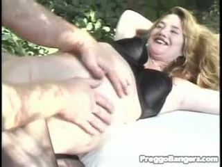 Pregnant Wet Crack Widen Open By A Biggest Rod