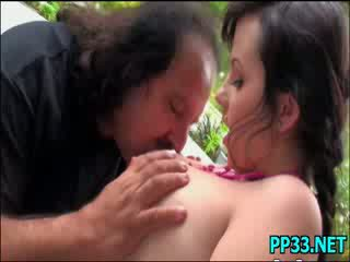 Sweet pretty babe is addicted to big mean cocks