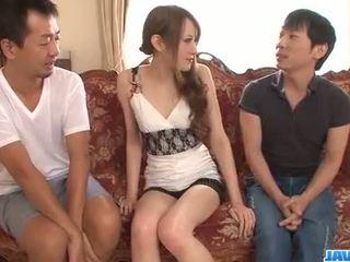 Uitstekend trio alng superb mai shirosaki