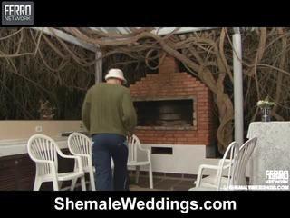 حار خنثى weddings مشهد starring senna, rabeche, alessandra