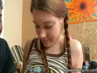 Nina liked how the kandang jaran playeed with her penthil.
