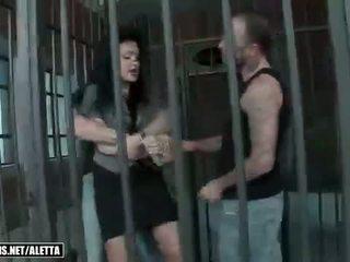 group sex, pornstars, prison