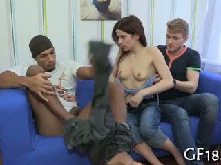 Na getting undressed door deze guy voor haar boyfriend