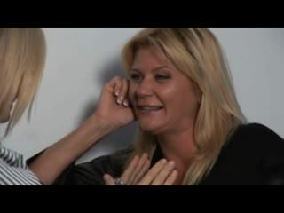 Nina, ginger & melissa - nxehtë milfs në lezbike encounters