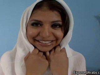 Природний єгиптянка дівчина gets її манда