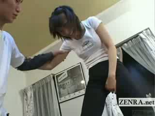 Subtitled japonská ballet ložnice stretching předehra