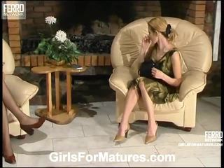 ChrisTina And Ninette Sapphic Mommy Inside Motion