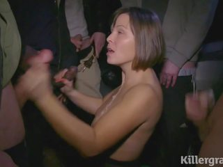 Dirty MILF Dogging gets Covered in Cum, Porn c5