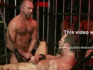 Gay prisoner treated like slave