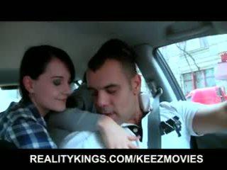 Realitāte kings - čehi meitenes are vienmēr augšup par an orgija