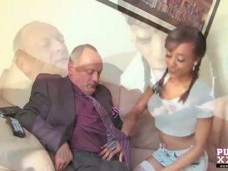 Pure xxx videoer: mørk tenåring alyssa divine screwing henne senior