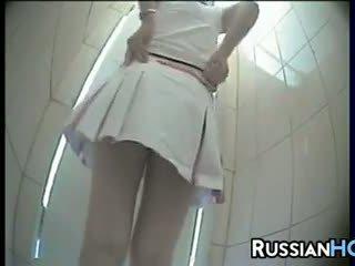 Escondido quarto de banho camera