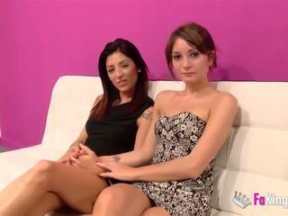 brunette, oral sex, gruppe sex
