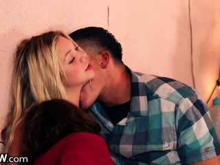 Jessie Andrews Spitroased in Twisted Orgy